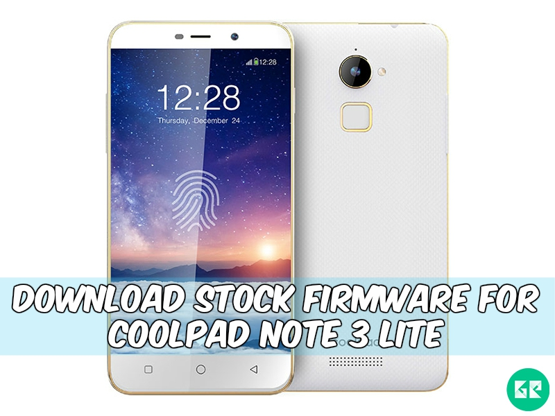 Coolpad Note 3 Lite flash file
